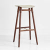 DOWEL STOOL WALNUT BY MR FRAG