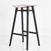 DOWEL STOOL EBONIZED BY MR FRAG