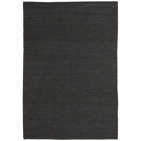 NATURAL JUTE CHARCOAL RUG by CADRYS