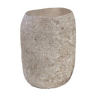 UNIQWA LAVA STONE STOOL