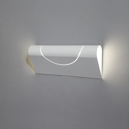 FURL WALL LIGHT SQUARE WHITE