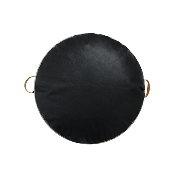 JIMMY FLOOR CUSHION BLACK