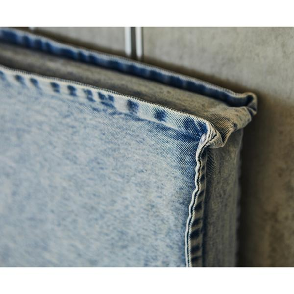 LONG TIME | DENIM BEDHEAD WITH SLIPCOVER