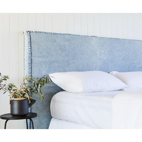 OLD FAITHFUL DENIM BEDHEAD WITH SLIPCOVER