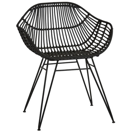 PALM SPRINGS SAFARI CHAIR BLACK