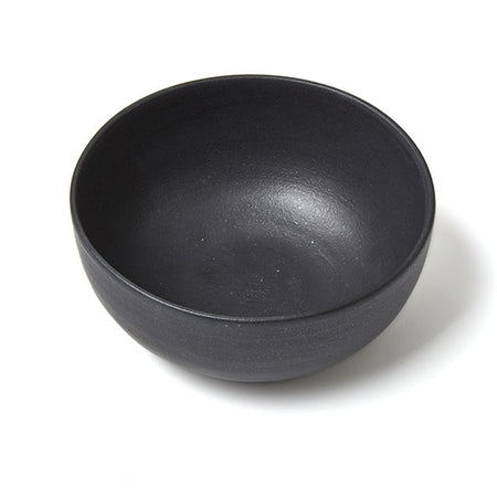 SET OF PHENDEI CERAMIC CEREAL BOWLS BLACK