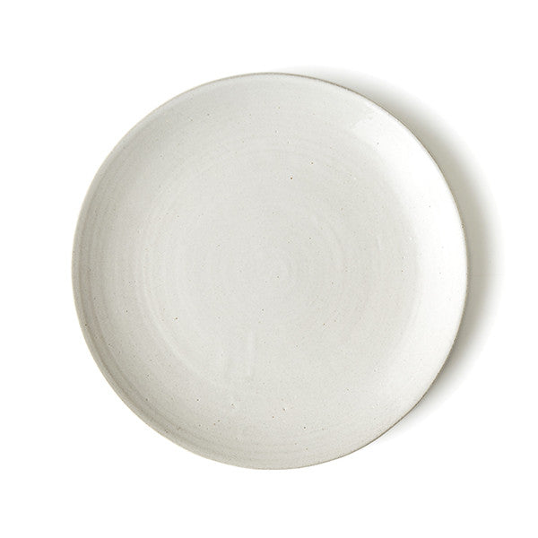 SET OF PHENDEI CERAMIC CLASSIC PLATES WHITE