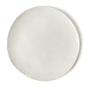 SET OF PHENDEI CERAMIC COCO FLAT PLATES WHITE