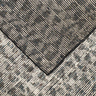 DECO DIAMOND CHARCOAL RUG by CADRYS
