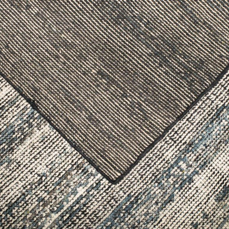 DECO RIDGES CHARCOAL RUG by CADRYS