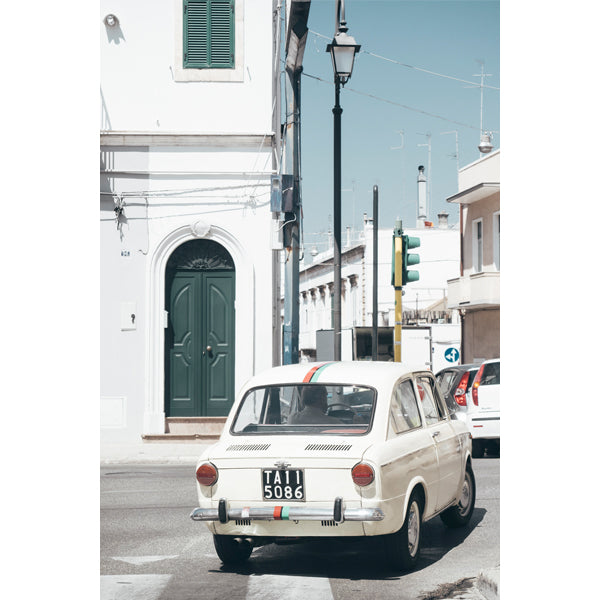 ITALIAN WHEELS PRINT BY STEPHANIE HUNTER