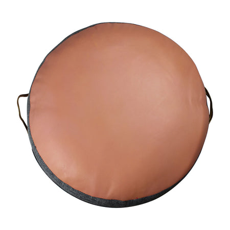 JIMMY FLOOR CUSHION IN BLUSH ROSE