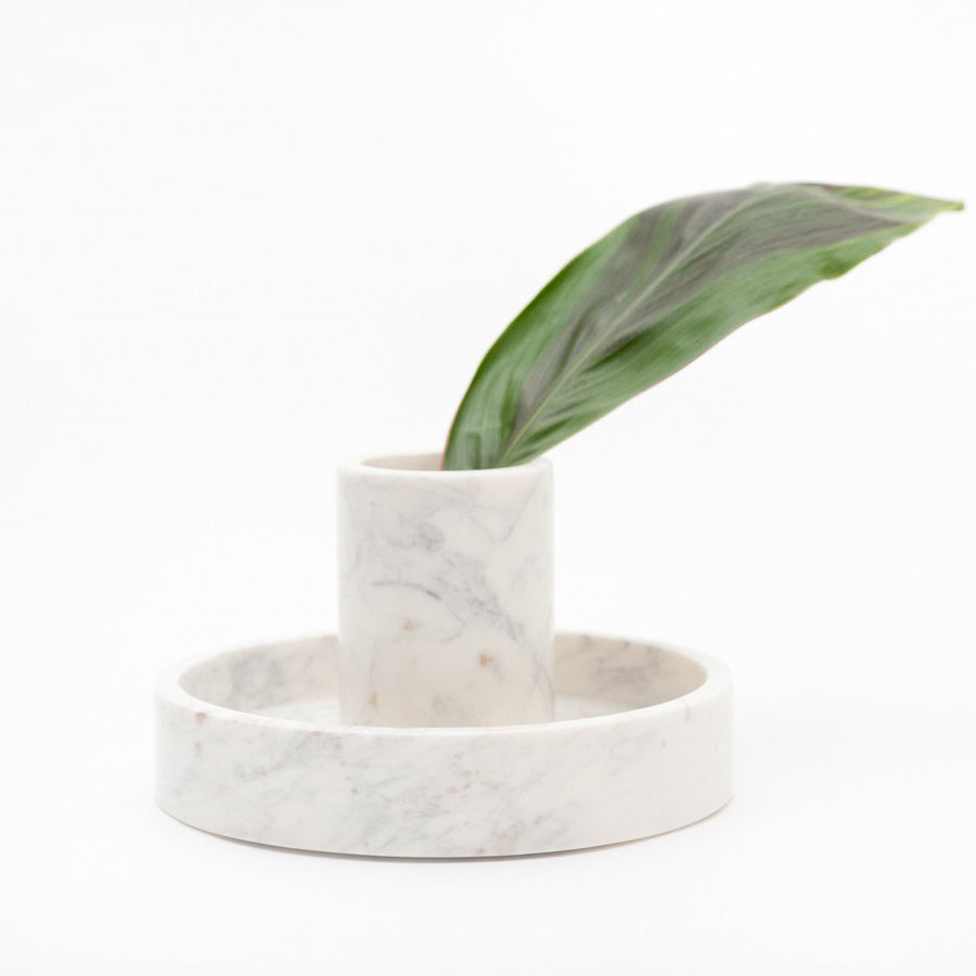 BABY BASIC MARBLE CANISTER