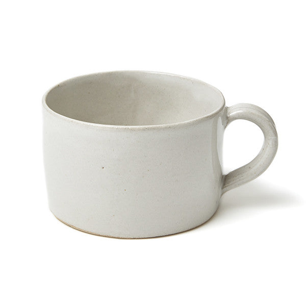 SET OF PHENDEI CERAMIC LARGE MUGS WHITE