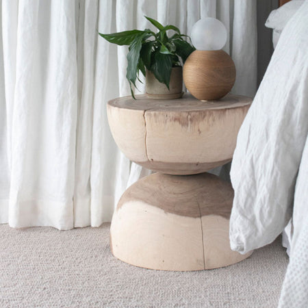 UNIQWA MELE STOOL NATURAL