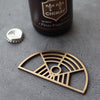 MIAMI BRONZE BOTTLE OPENER