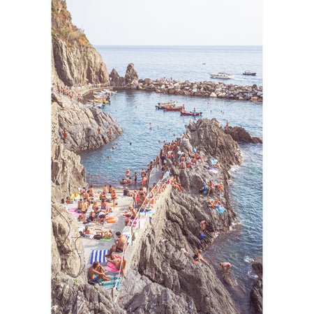 MANAROLA PRINT BY STEPHANIE HUNTER