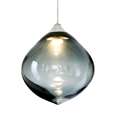 OLLO PENDANT GREY GLASS