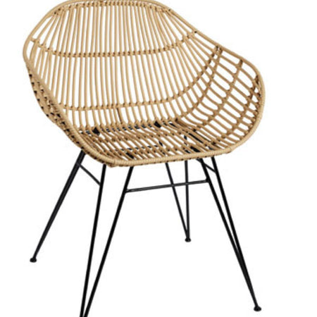 PALM SPRINGS SAFARI CHAIR - NATURAL