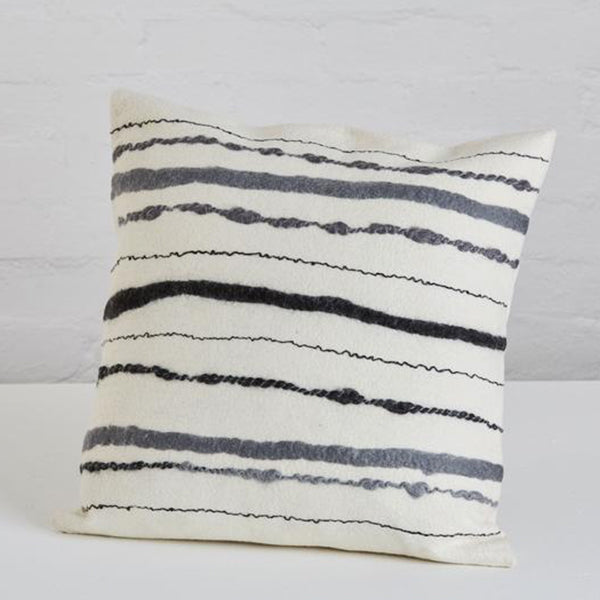 CHUNKY STRIPE CUSHION