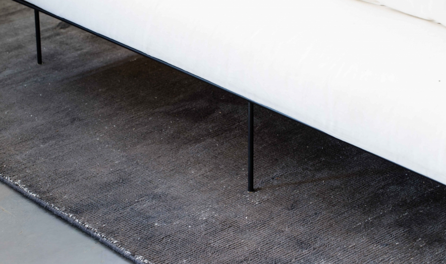 ELEMENTS CHARCOAL RUG by CADRYS