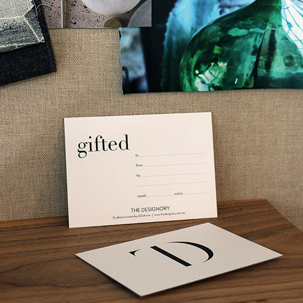 GIFT CARD FOR DESIGN SERVICES