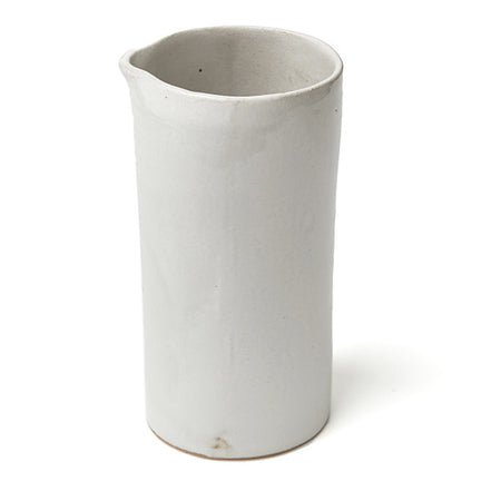 PHENDEI CERAMIC TALL JUG WHITE