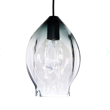VOLT PENDANT GREY GLASS