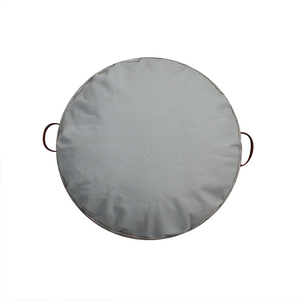 JIMMY FLOOR CUSHION GREY SMOKE