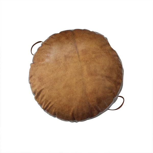 JIMMY FLOOR CUSHION ANTIQUE TAN