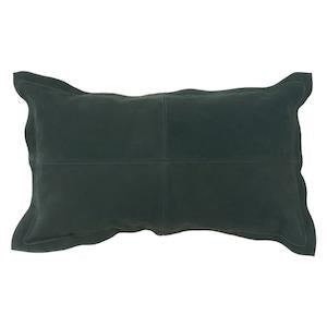 NUBACK LEATHER CUSHION