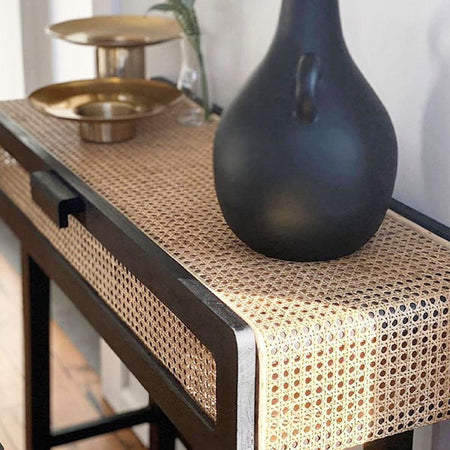 HAYME CONSOLE TABLE BLACK