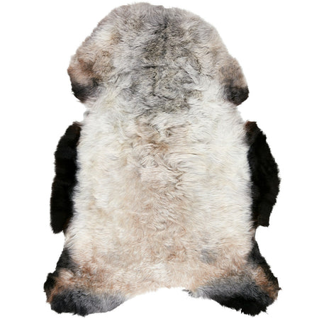 ICELANDIC SHORN SHEEPSKIN MOTTLED