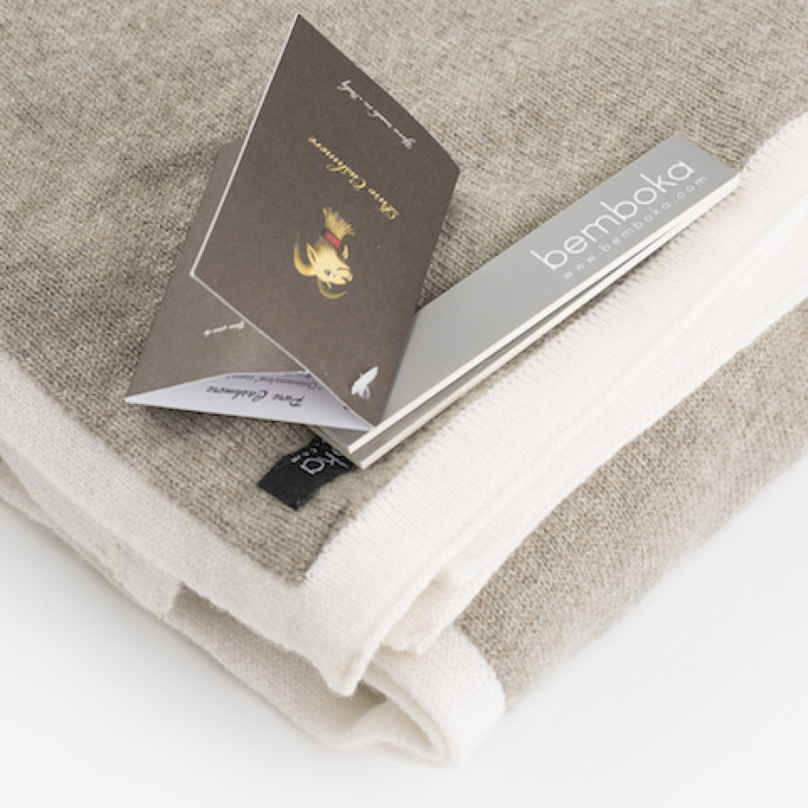 BEMBOKA CASHMERE FRAME THROW