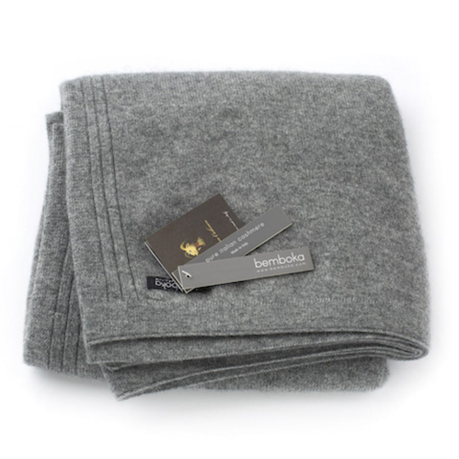 BEMBOKA CASHMERE JERSEY THROW