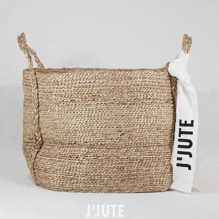 ANDAMAN MEDIUM JUTE BASKET NATURAL