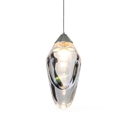 OST PENDANT CLEAR GLASS
