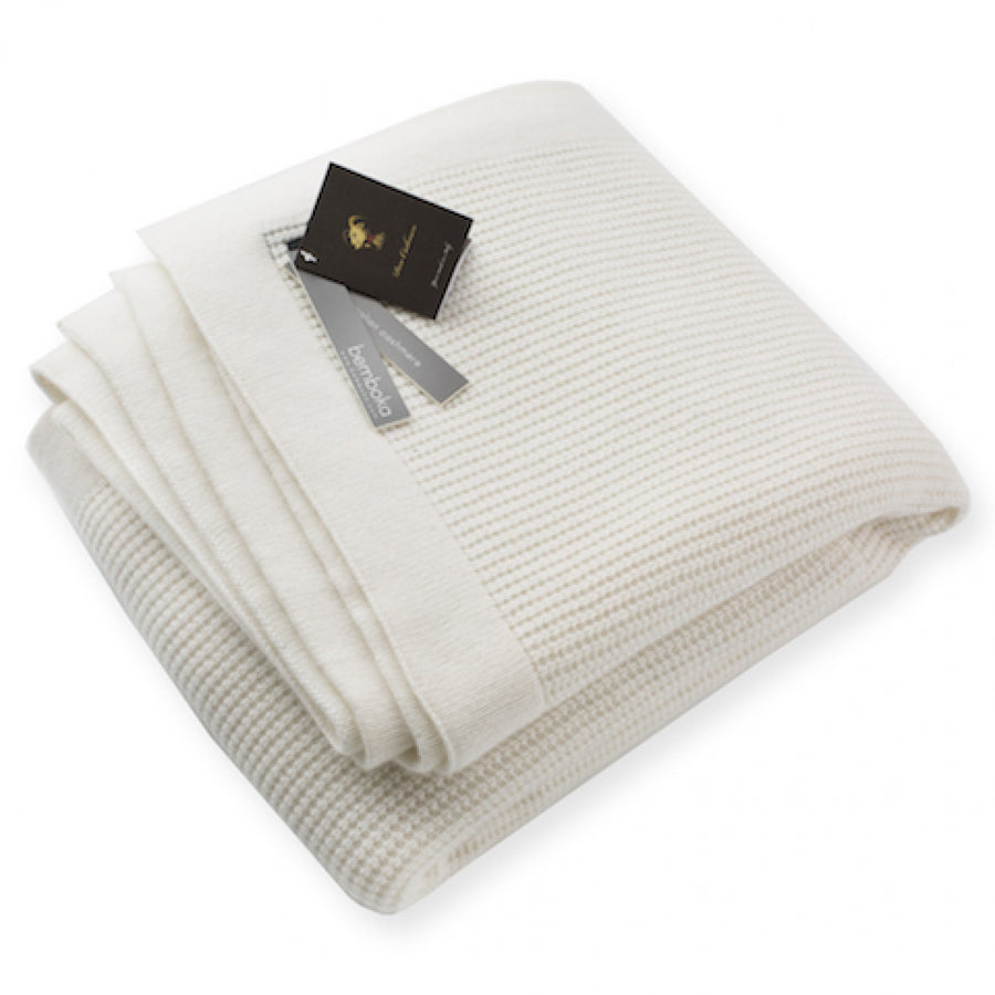 BEMBOKA CASHMERE SMALL BOX THROW