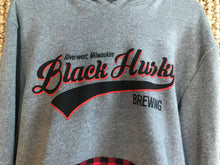 Load image into Gallery viewer, Buffalo Plaid Script Hoodie
