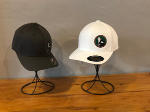 White Flex-Fit Cap