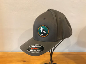 Grey Flex-Fit Cap