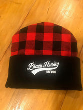 Load image into Gallery viewer, Buffalo Plaid Knit Hat