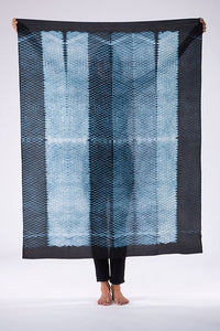 SILK SHIBORI MINI DIAMONDS 'SQUARE'