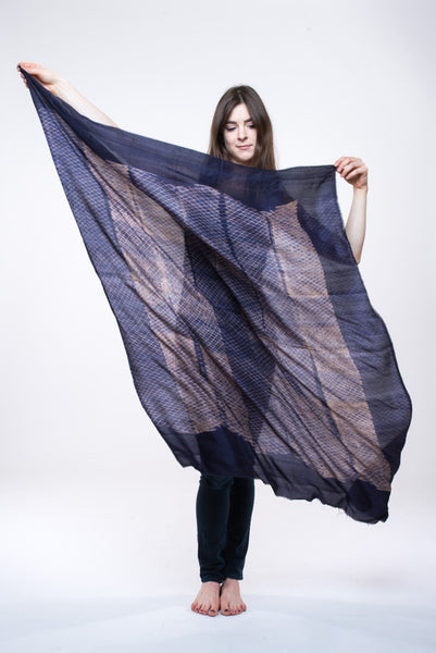 "SILK SHIBORI MINI DIAMONDS ""SQUARE"""