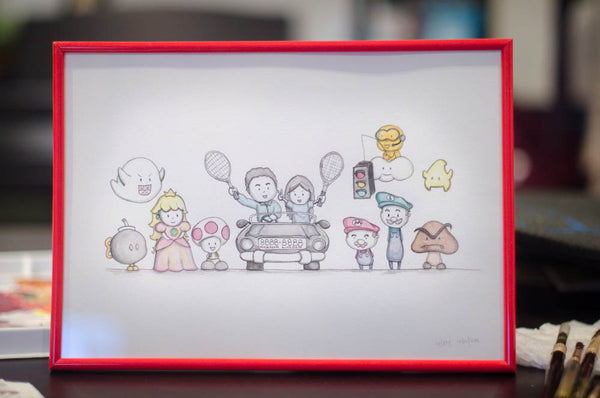 Bespoke Nintendo Illustration by Hooby Groovy