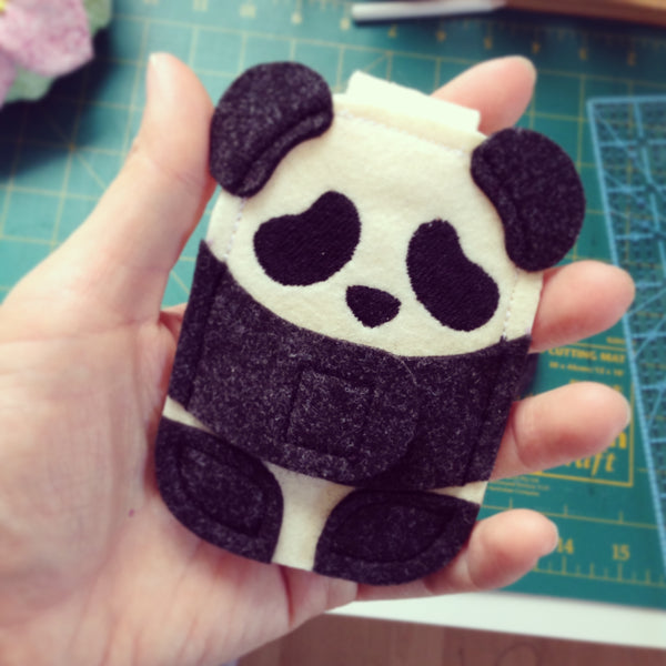 Panda iPod Nano Case by Hooby Groovy