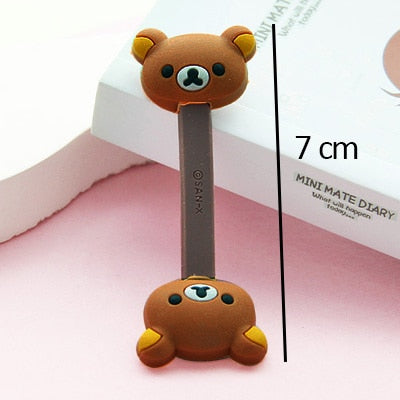 Cute Bear Cable clip