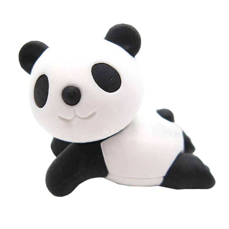Cute Rubber Panda Eraser