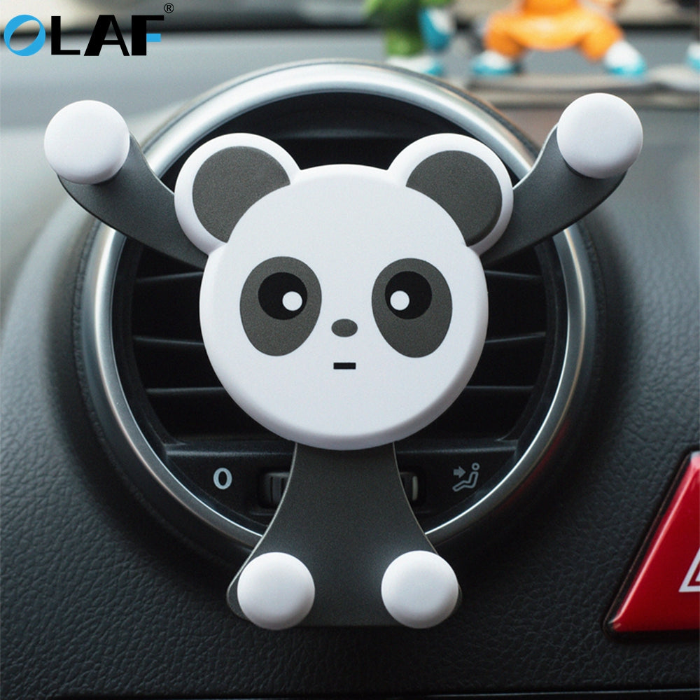 Panda Car Phone Holder