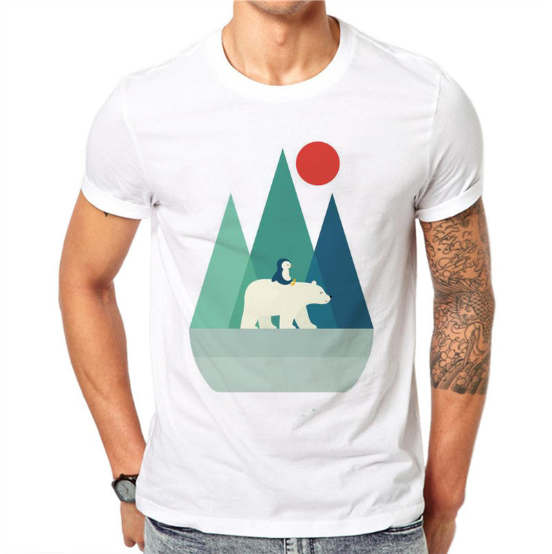 Penguin + Polar Bear T-shirt